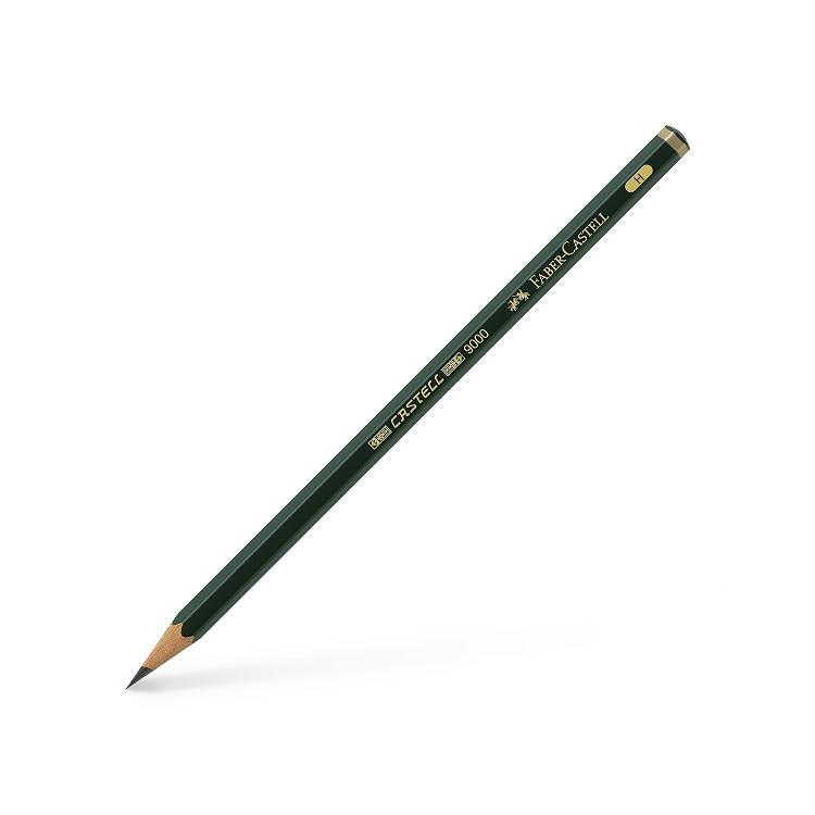 Creion grafit H, FABER-CASTELL CASTELL 9000