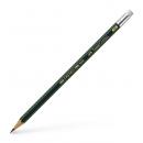 Creion grafit HB cu radiera, FABER-CASTELL Castell 9000
