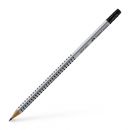 Creion grafit HB cu radiera, FABER-CASTELL Grip 2001
