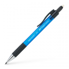 Creion mecanic 0.5mm corp albastru, FABER-CASTELL Grip-Matic 1375