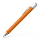 Creion mecanic de lux 0.7mm corp portocaliu, FABER-CASTELL Ondoro