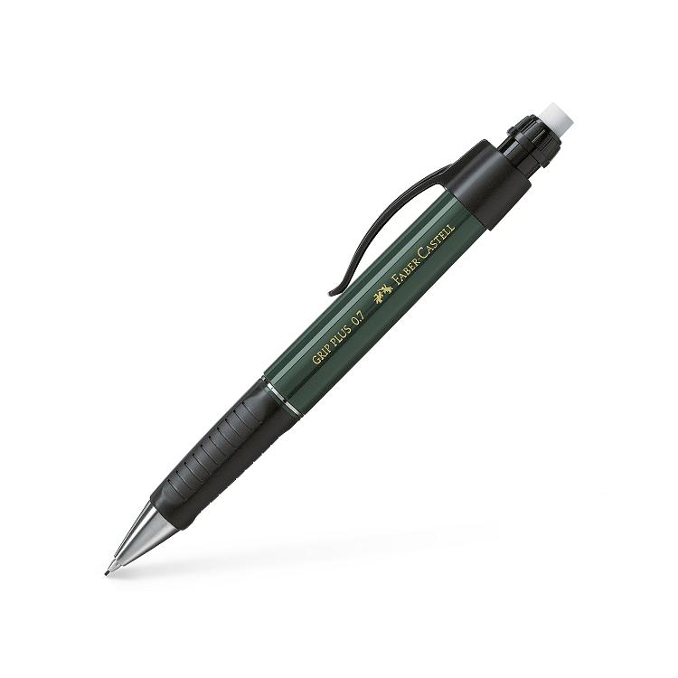 Creion mecanic 0.7 mm corp verde, FABER-CASTELL Grip Plus 1307