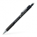 Creion mecanic 0.7mm corp negru, FABER-CASTELL Grip 1347