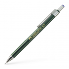 Creion mecanic 0.7mm corp verde, FABER-CASTELL TK-Fine 1367