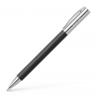 Creion mecanic de lux 0.7mm corp negru, FABER-CASTELL Ambition Precious Resin