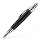 Creion mecanic de lux 1.4mm corp negru, FABER-CASTELL E-motion Parquet