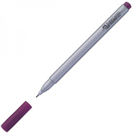 Liner 0.4mm albastru violet, FABER-CASTELL Grip