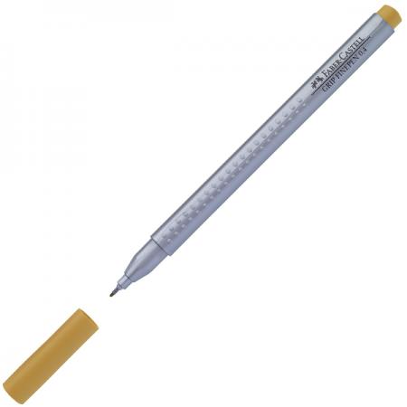 Liner 0.4mm maro ocru, FABER-CASTELL Grip