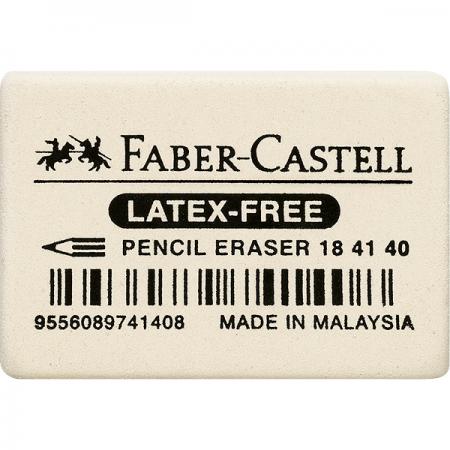 Radiera creion alba 36x26x8mm, FABER-CASTELL 7041
