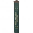 Mina creion 0.5mm 2B Polymer 12 buc/set, FABER-CASTELL