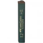 Mina creion 0.5mm B Polymer 12 buc/set, FABER-CASTELL