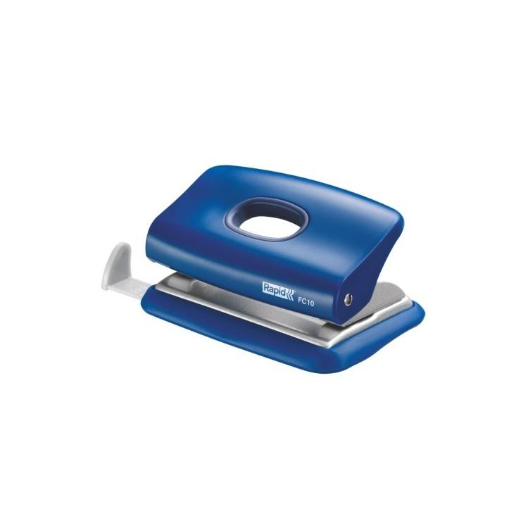 Perforator 10 coli albastru, RAPID FC10