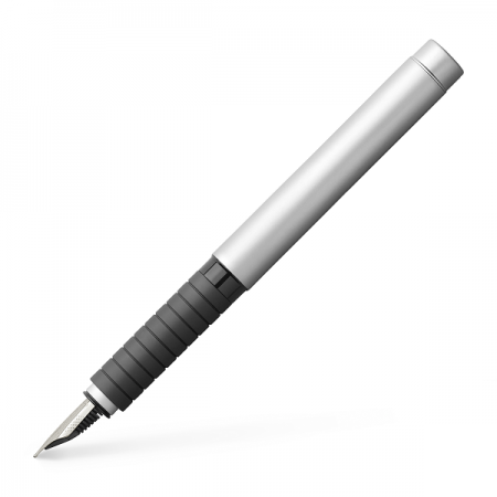 Stilou de lux F corp metalic MAT, FABER-CASTELL Basic
