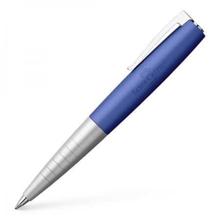 Pix de lux negru corp metalic albastru, FABER-CASTELL Loom