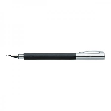 Stilou de lux F corp negru, FABER-CASTELL Ambition Precious Resin