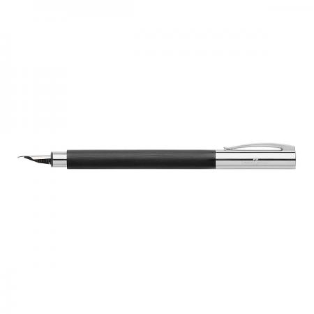 Stilou de lux M corp negru, FABER-CASTELL Ambition Precious Resin