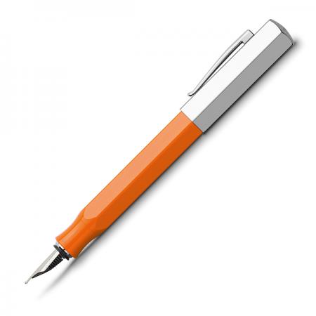 Stilou de lux F corp portocaliu, FABER-CASTELL Ondoro