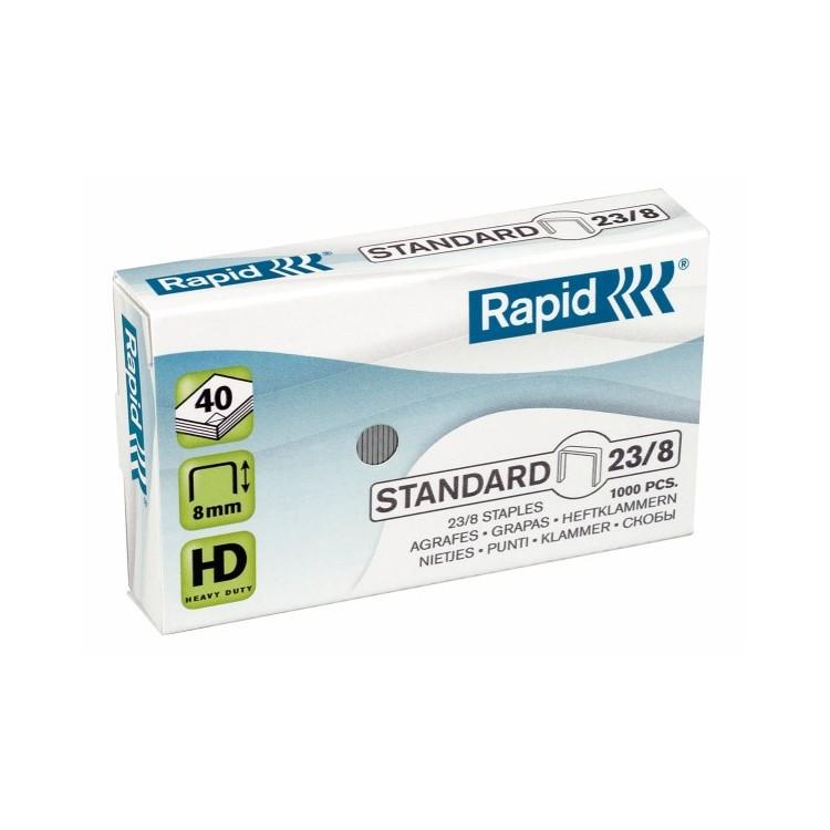 Capse 23/8 1000 buc/cut, RAPID Standard