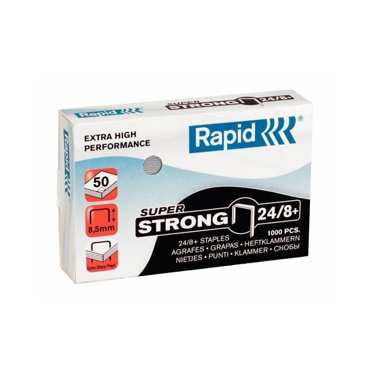 Capse 24/8+ 1000 buc/cut, RAPID SUPERStrong