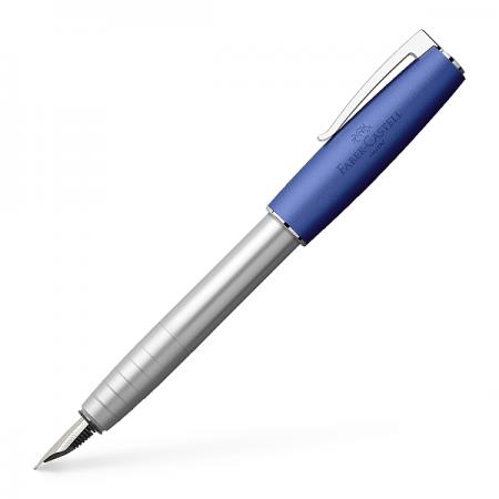 Stilou de lux F corp metalic albastru, FABER-CASTELL Loom