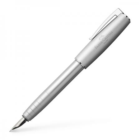 Stilou de lux F corp metalic argintiu, FABER-CASTELL Loom