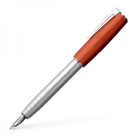 Stilou de lux F corp metalic portocaliu, FABER-CASTELL Loom