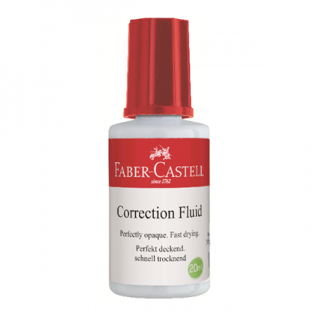 Fluid corector 20ml (solvent), FABER-CASTELL