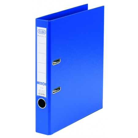 Biblioraft dublu plastifiat 5cm albastru, ELBA Rado Basic