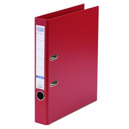 Biblioraft dublu plastifiat 5cm rosu, ELBA Rado Basic