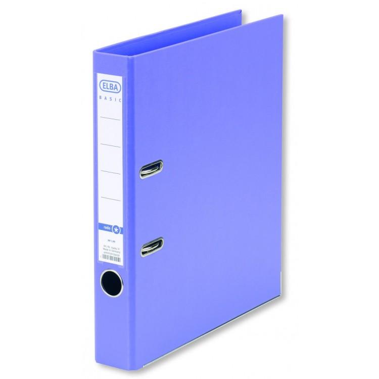 Biblioraft dublu plastifiat 5cm violet, ELBA Rado Basic