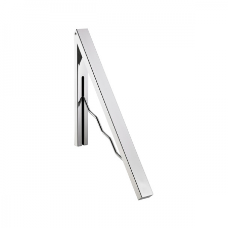 Cuier metalic de perete pentru umerase argintiu, ALCO Design