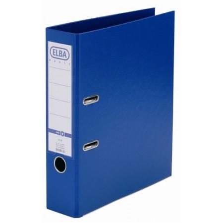 Biblioraft dublu plastifiat 8cm albastru, ELBA Rado Basic