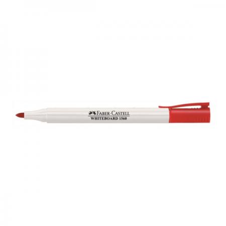 Marker whiteboard rosu, FABER-CASTELL Slim 1560