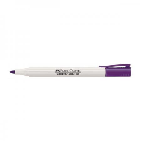 Marker whiteboard violet, FABER-CASTELL Slim 1560