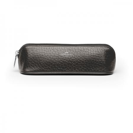 Portofel pentru accesorii cu fermoar mic maro, FABER-CASTELL 1893