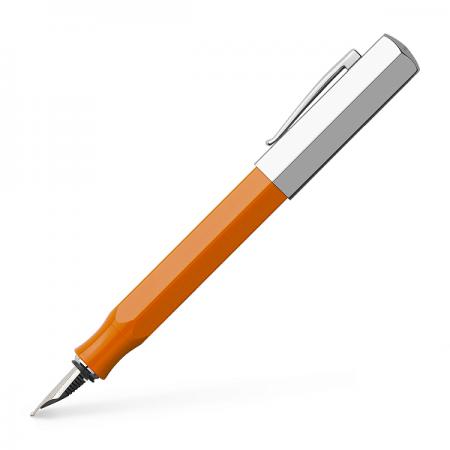 Stilou de lux M corp portocaliu, FABER-CASTELL Ondoro