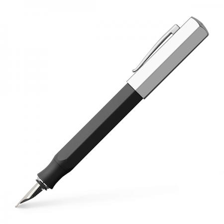 Stilou de lux F corp negru grafit, FABER-CASTELL Ondoro