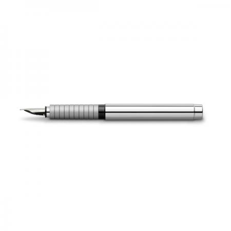 Stilou de lux M corp metalic lucios, FABER-CASTELL Basic