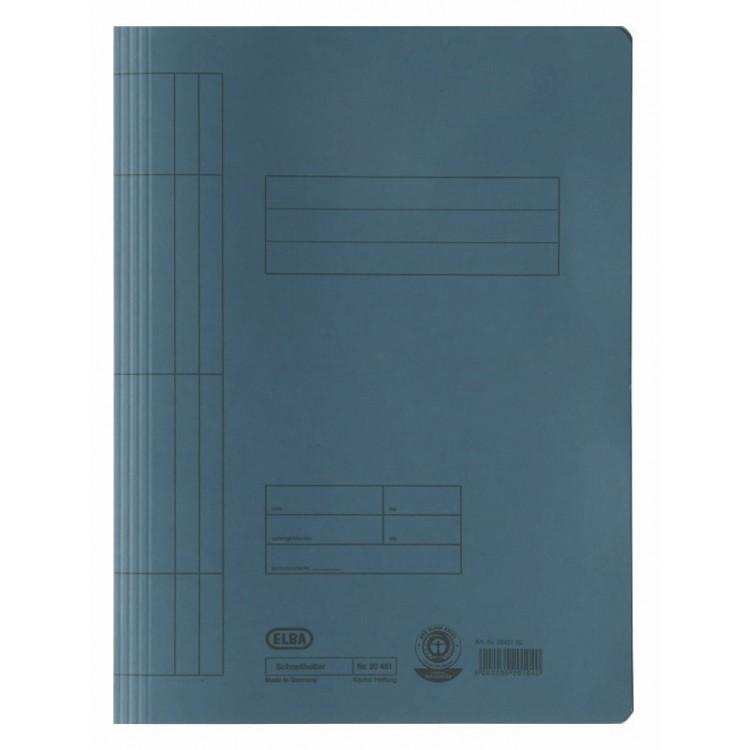 Dosar carton cu sina albastru, ELBA