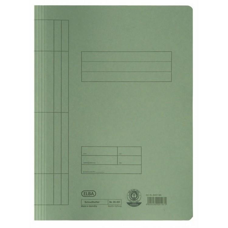 Dosar carton cu sina verde, ELBA
