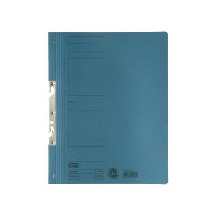 Dosar carton de incopciat 1/1 albastru, ELBA