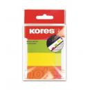 Index adeziv hartie 20x50mm 50 file x 4 culori PAL, KORES