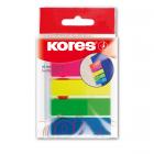 Index adeziv plastic 12x45mm 25 file x 5 culori, KORES