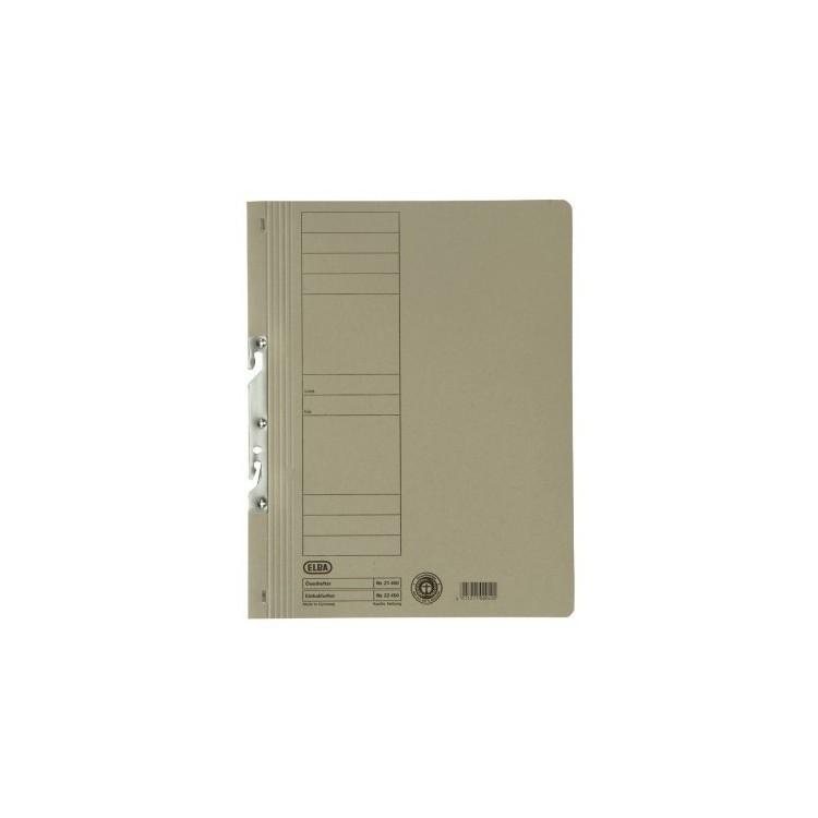 Dosar carton de incopciat 1/1 gri, ELBA