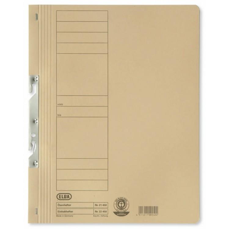 Dosar carton de incopciat 1/1 kraft, ELBA