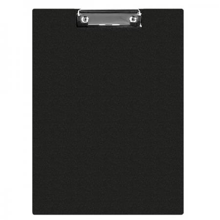 Clipboard dublu A5 PVC negru, Q-CONNECT