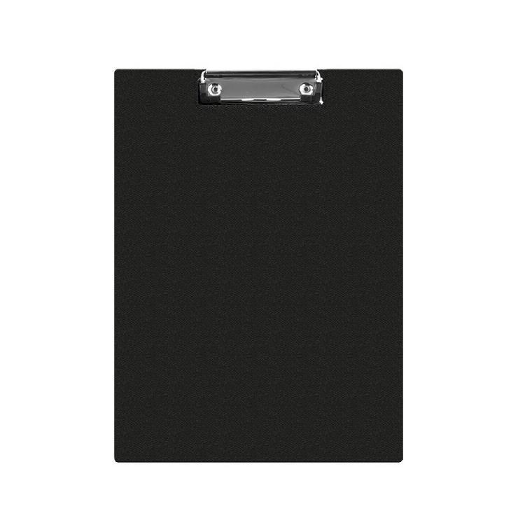 Clipboard dublu A5 PVC negru, DONAU