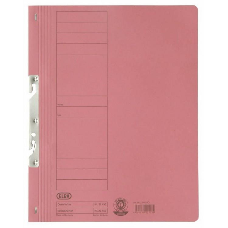 Dosar carton de incopciat 1/1 rosu, ELBA