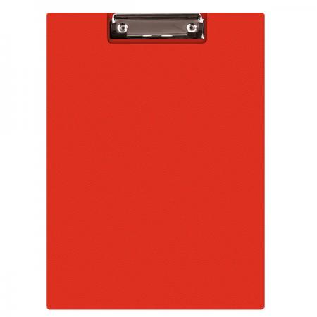 Clipboard dublu A5 PVC rosu, Q-CONNECT