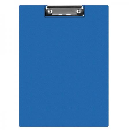 Clipboard dublu PVC albastru, Q-CONNECT